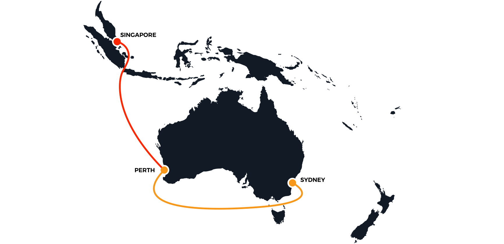Map of Indigo Cable Network